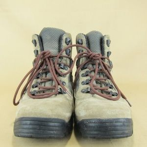Merrell Shoes - Merrell Eagle Boots Taupe Lace Up Hiking Trail 7.5